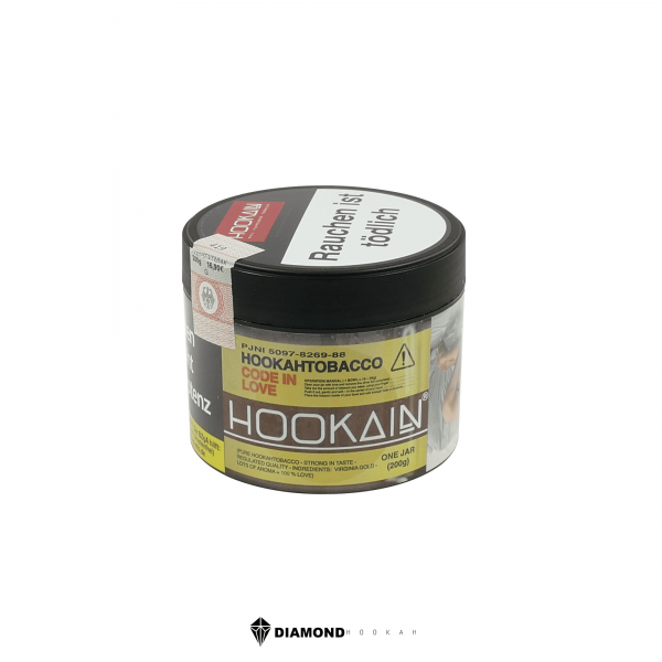 Hookain Code In Love | Diamondhookah - Shishas und Wasserpfeifen